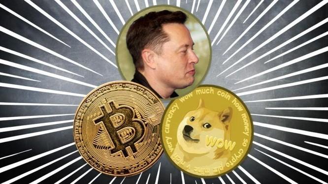 Một câu nói của Elon Musk khiến cả thị trường tiền điện tử chao đảo. Ảnh: Sina