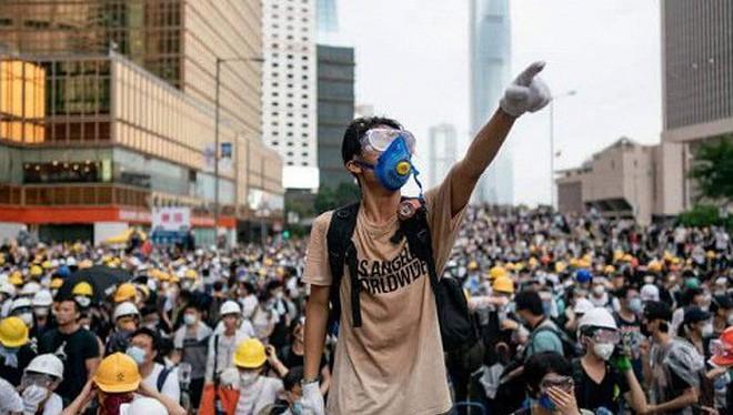 Căng thẳng tại Hong Kong (Nguồn: Internet)
