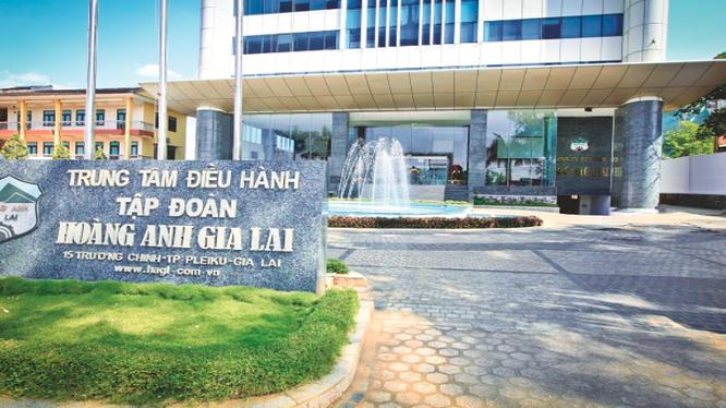 Trung tâm điều hành Tập đoành Hoàng Anh Gia Lai - Công ty mẹ của HAGL Agrico (Nguồn: HNG)