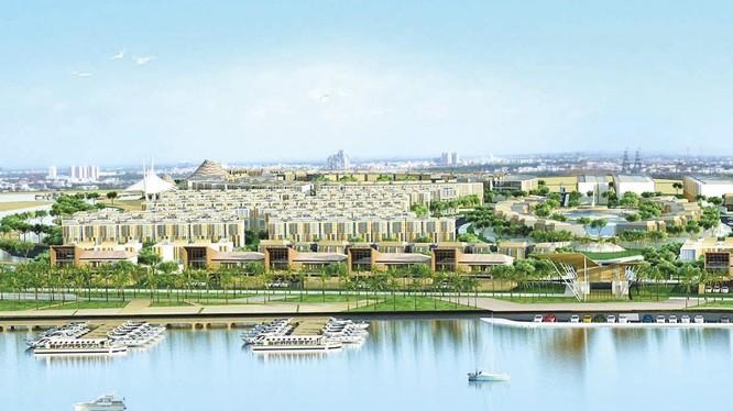 Phối cảnh dự án nhà phố của CapitaLand xây dựng tại Quận 2 (Nguồn: CapitaLand)
