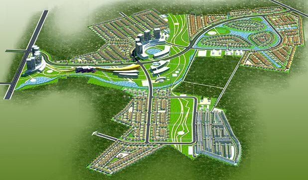 Khung cảnh toàn thể dự án KĐT sinh thái Hồng Hạc - Xuân Lâm (Nguồn: KCX Bắc Ninh)