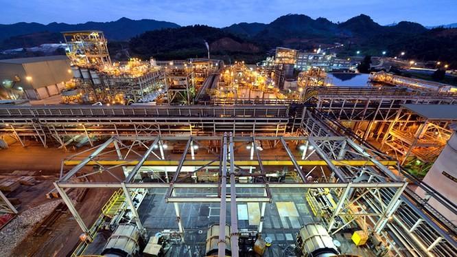 Hình ảnh tại mỏ Núi Pháo của Công ty TNHH Tinh luyện Vonfram Núi Pháo – H.C.Starck. Nguồn: Nui Phao – H.C.Starck