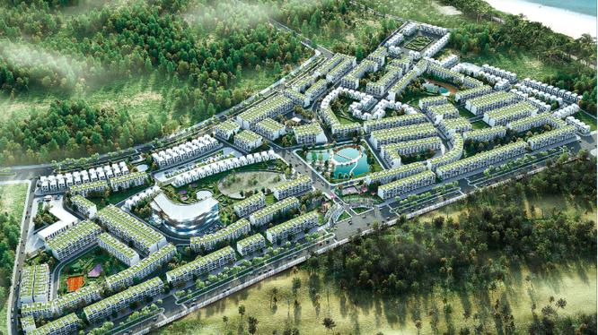 Phối cảnh Khu đô thị chức năng FLC Lux City Quy Nhơn do Faros Bình Định làm chủ đầu tư (Nguồn: FLC Faros)