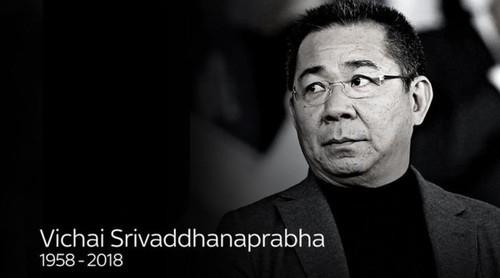 """Tỷ phú Vichai Srivaddhanaprabha, người đã giúp Leicester City """"mơ về những điều không thể""""."""