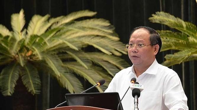 Ông Tất Thành Cang - Ủy viên Trung ương Đảng, Phó Bí thư Thường trực Thành ủy Thành phố Hồ Chí Minh
