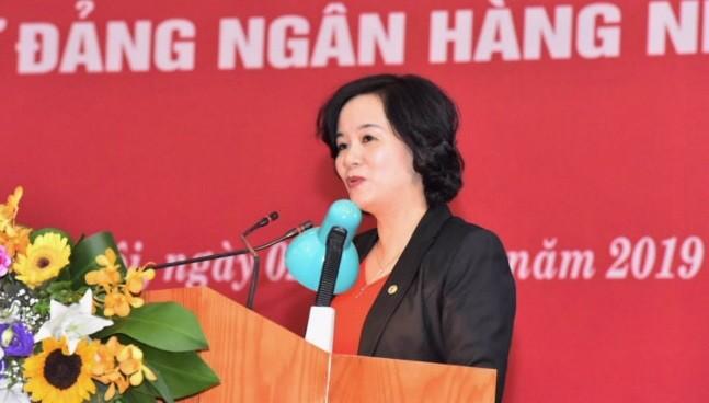 Bà Nguyễn Tuyết Dương, tân Thành viên HĐTV Agribank (Nguồn: NHNN)