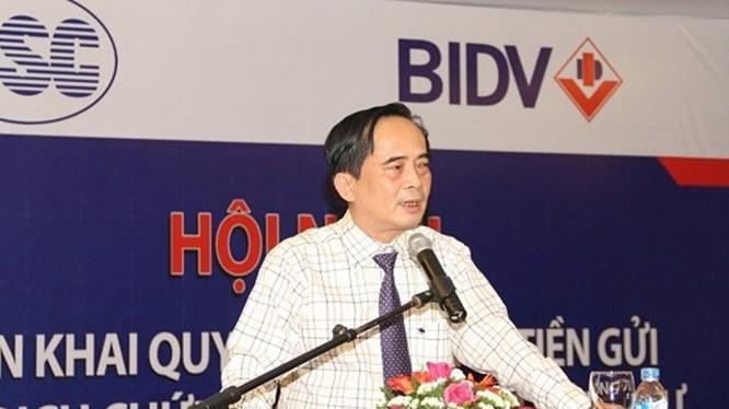 Ông Đoàn Ánh Sáng trong thời gian đảm nhiệm cương vị Phó Tổng Giám đốc BIDV (Nguồn: Internet)