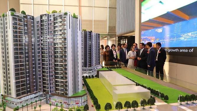 Mô hình kiến trúc dự án Romduol City (Nguồn: www.khmertimeskh.com)