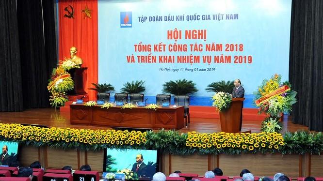Thủ tướng Chính phủ Nguyễn Xuân Phúc phát biểu chỉ đạo tại Hội nghị (Nguồn: VPCP)