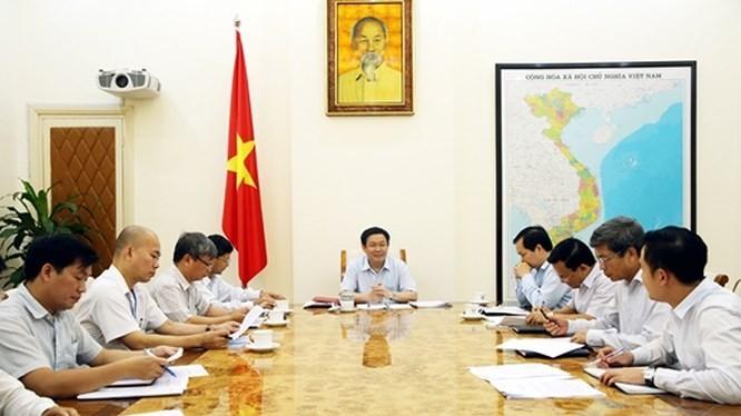Một cuộc họp của Hội đồng Tư vấn chính sách tài chính, tiền tệ quốc gia (Nguồn: Internet)