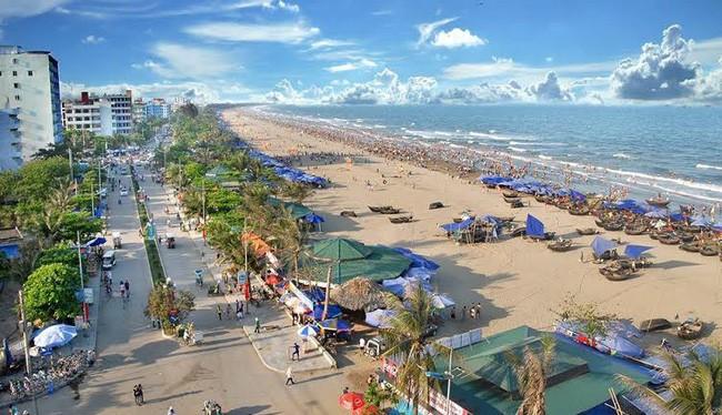 Một góc bãi biển Sầm Sơn, tỉnh Thanh Hóa (Ảnh: Internet)