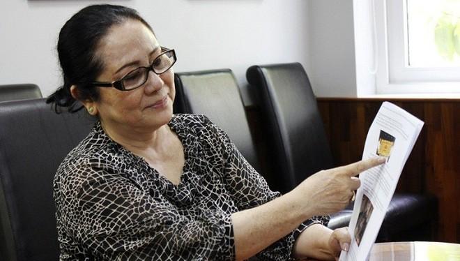 Bà Dương Thị Bạch Diệp (Ảnh: Internet)