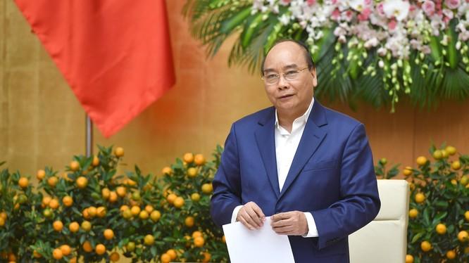 Thủ tướng phát biểu chỉ đạo tại phiên họp Chính phủ thường kỳ tháng 1/2019 - Ảnh: VGP/Quang Hiếu