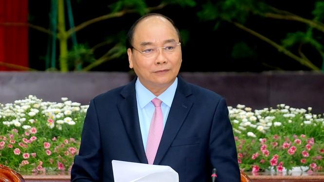 Thủ tướng Chỉnh phủ Nguyễn Xuân Phúc (Ảnh: VGP)