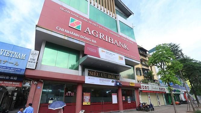 Một chi nhánh của Ngân hàng Nông Nghiệp và Phát triển Nông thôn Việt Nam tại Hà Nội (Nguồn: Internet)