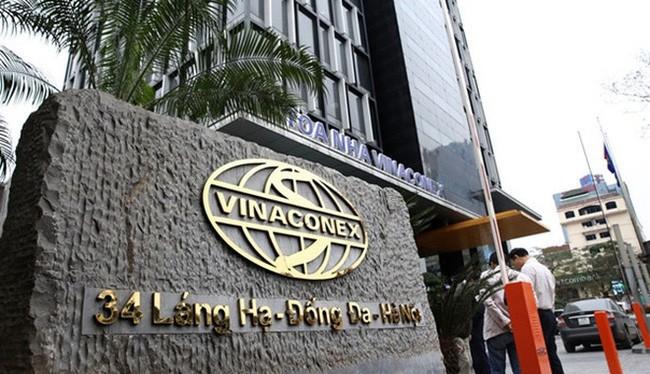 Tòa nhà trụ sở của Vinaconex (Ảnh: Internet)