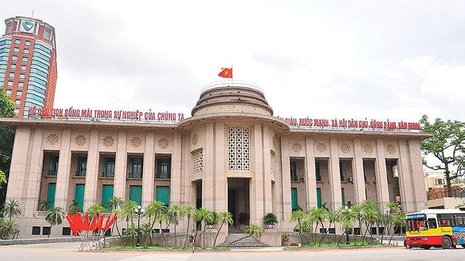 Trụ sở Ngân hàng Nhà nước Việt Nam (Ảnh: Internet)