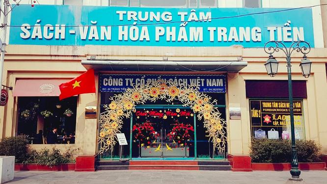 CTCP Sách Việt Nam là một doanh nghiệp có lịch sử lâu đời (Ảnh: VNB)