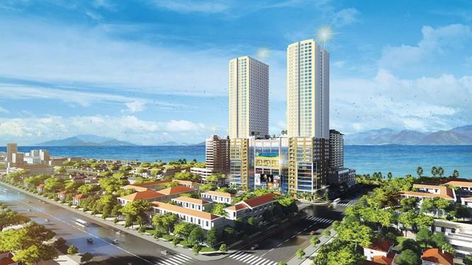 """Phối cảnh dự án Gold Coast trên khu """"đất vàng"""" rộng 7.388 m2 (Ảnh: thanhyengroup.com)"""