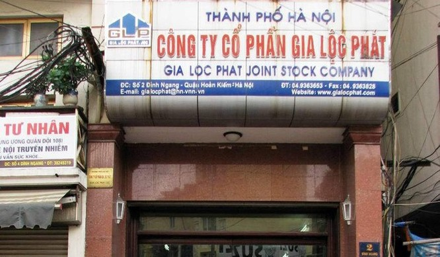 Trụ sở chính của CTCP Gia Lộc Phát (Ảnh: Internet)