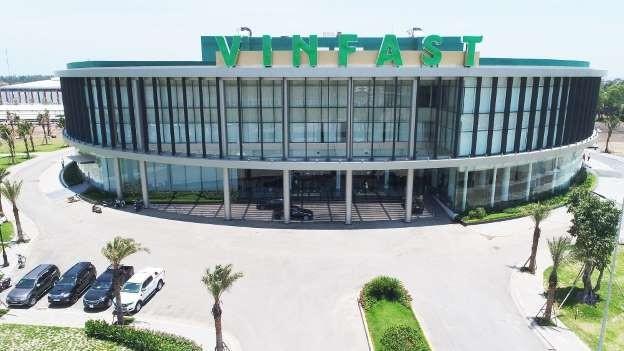 Nhà máy sản xuất ô tô VinFast của tập đoàn Vingroup (Ảnh: Internet)