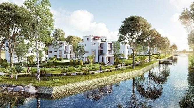 Phối cảnh dự án làm nên tên tuổi của MIKGroup - Villa Park (Ảnh: Internet)