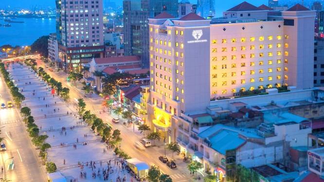 Khách sạn Saigon Prince Hotel có vị trí đắc địa tại Tp. HCM thuộc sở hữu của Công ty TNHH Vinametric (Ảnh: Internet)