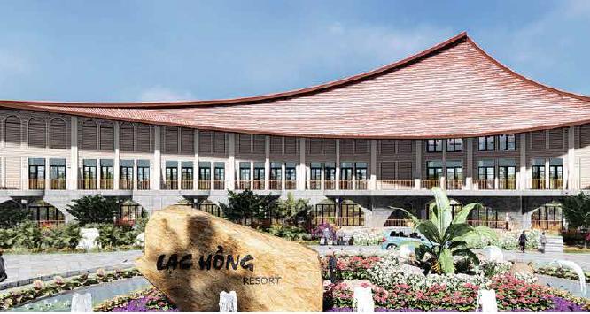 Khu Resort Lạc Hồng (Ảnh minh họa - Nguồn: An Cư Corp)