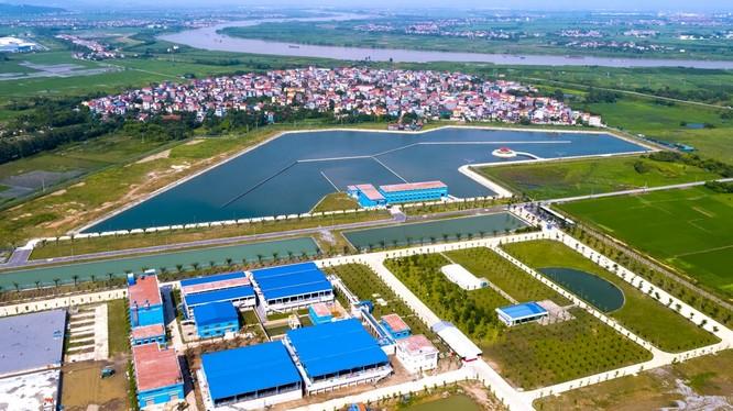 Dự án Nhà máy nước mặt Sông Đuống (Ảnh: Aquaone.vn)