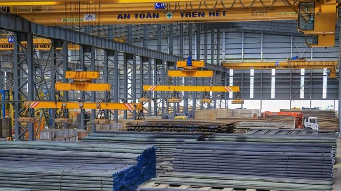 Hòa Phát lập kỷ lục bán 300.000 tấn thép trong tháng 11/2019 (Ảnh minh họa)