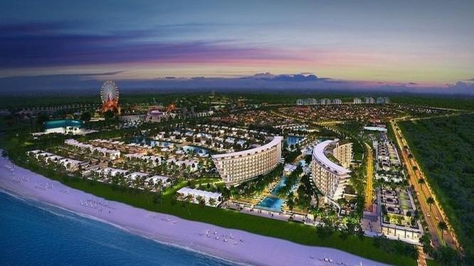 """Phối cảnh dự án Grand World tại """"đảo ngọc"""" Phú Quốc, tỉnh Kiên Giang (Nguồn: Internet)"""
