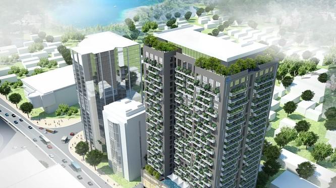 Phối cảnh dự án 93 Láng Hạ (Ảnh: Internet)