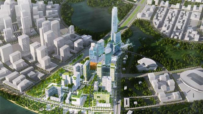 Tiến Phước từng gây nhiều sự chú ý khi tham gia liên doanh đầu tư dự án Empire City tại Khu đô thị Thủ Thiêm, Tp. HCM (Ảnh: Internet)