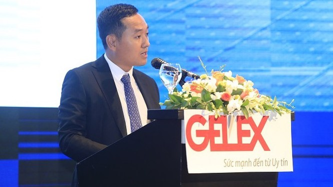 Ông Nguyễn Văn Tuấn trên cương vị Chủ tịch HĐQT Gelex (Ảnh: Internet)