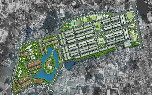 Phối cảnh dự án Thái Hưng Eco City trên một số trang môi giới bất động sản (Ảnh: Internet)