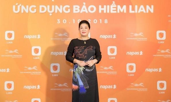 Nữ doanh nhân Đỗ Thị Kim Liên tái xuất trong lĩnh vực bảo hiểm với Lian (Ảnh: Internet)