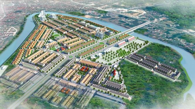 Phối cảnh Khu đô thị mới Mai Pha tại Lạng Sơn (Ảnh: Internet)