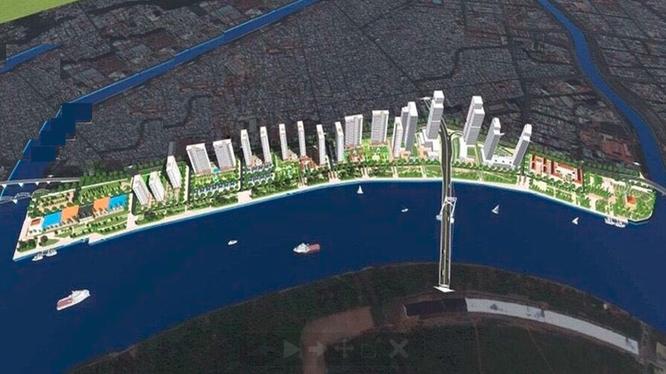 Phối cảnh dự án Nhà Rồng - Khánh Hội (Ảnh: Internet)
