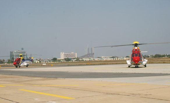 Sân bay Vũng Tàu hiện tại ở P.9, TP. Vũng Tàu (Nguồn: Báo Bà Rịa - Vũng Tàu)
