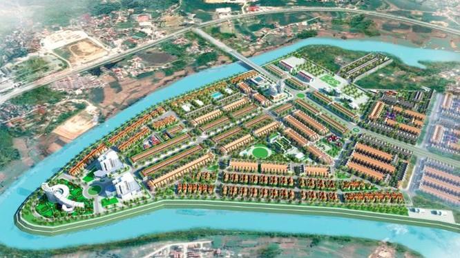 Phối cảnh Khu đô thị mới Mai Pha (Ảnh: Internet)