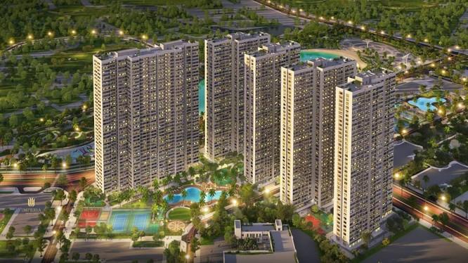 Phối cảnh dự án Imperia Smart City mà CTCP HBI đang phát triển (Nguồn: Internet)