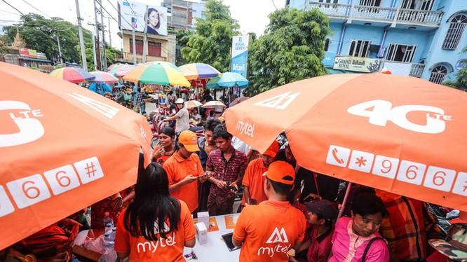 Thị trường Myanmar tiếp tục là động lực tăng trưởng chính cho VGI (Ảnh: Internet)