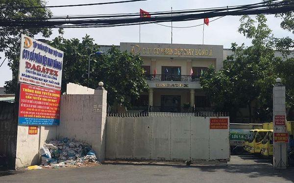 Trụ sở chính của CTCP Dệt may Đông Á (Ảnh: P.D)
