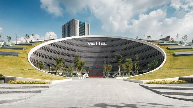 Trụ sở của tập đoàn Viettel (Ảnh: CTD)