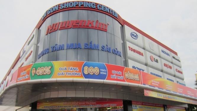 Chuỗi siêu thị điện máy Nguyễn Kim (Ảnh minh họa)
