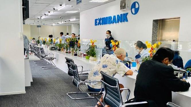 Một chi nhánh của Eximbank đã phải tạm đóng cửa vì tiếp khách nhiễm Covid-19 (Nguồn: EIB)