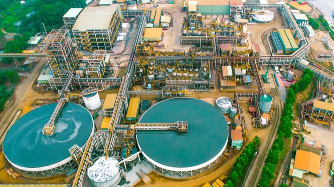Dây chuyền nhà máy hiện đại của Masan High-Tech Materials tại Việt Nam (Ảnh: MSR)