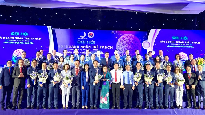 Đại hội Hội Doanh nhân trẻ TP HCM nhiệm kỳ 2020 - 2023