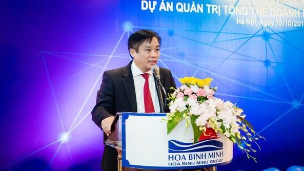Ông Bùi Minh Lực - Chủ tịch kiêm TGĐ của TCty Hoà Bình Minh