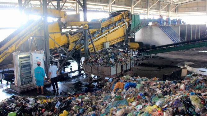 Nhà máy xử lý rác (Ảnh minh hoạ)